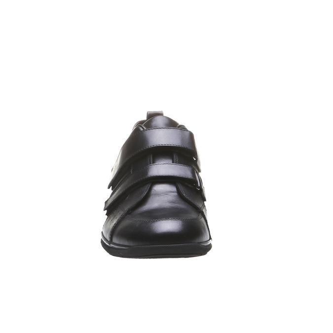 Skórzane buty sportowe bata, czarny, 814-6344 - 16
