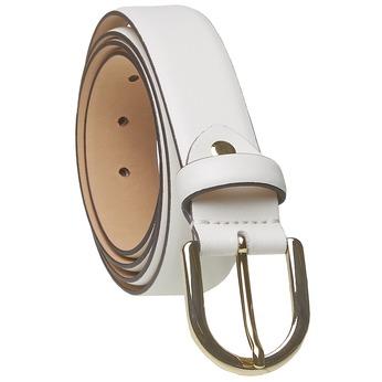 Biały skórzany pasek bata, biały, 954-1159 - 13