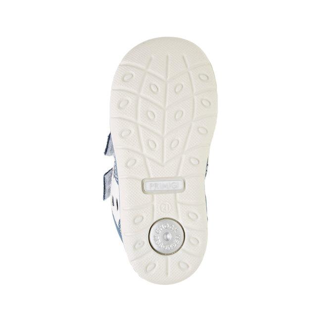 Dziecięce buty sportowe na rzepy primigi, niebieski, 119-9141 - 26