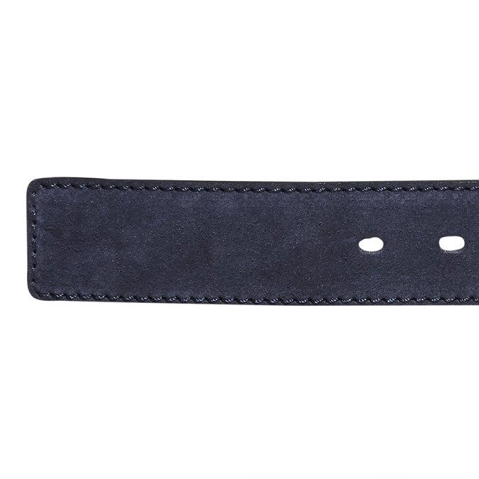 Skórzany pasek bata, niebieski, 953-9106 - 16
