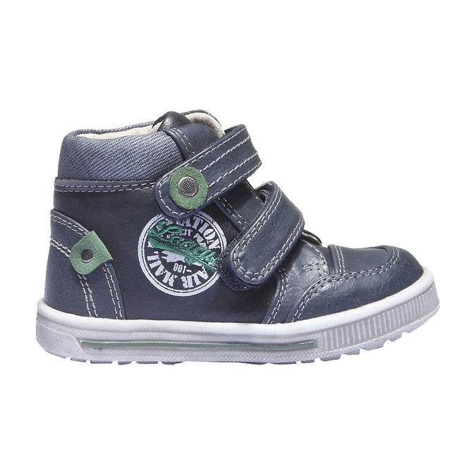 Dziecięce buty sportowe mini-b, niebieski, 111-9100 - 26