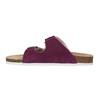 Damskie skórzane pantofle de-fonseca, fioletowy, 573-5620 - 26