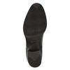 Skórzane botki z elastycznymi bokami bata, brązowy, 596-4623 - 26