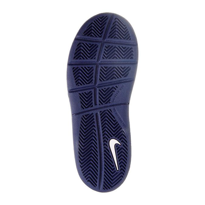 Dziecięce buty sportowe na rzep nike, biały, niebieski, 304-9548 - 26