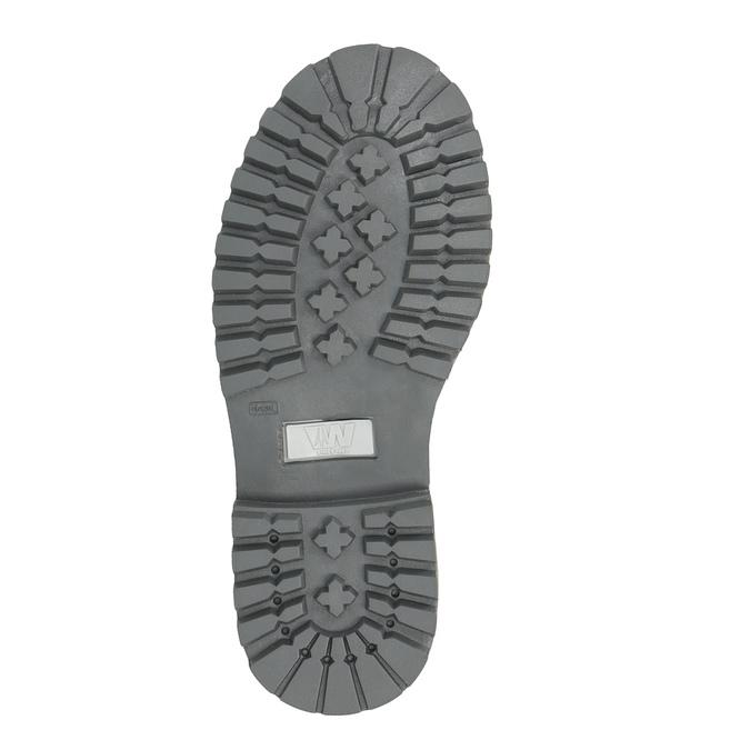 Dziecięce buty zimowe nad kostkę weinbrenner-junior, niebieski, 396-9263 - 26