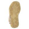 Dziecięce skórzane sandały weinbrenner-junior, brązowy, 366-3170 - 26