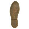 Półbuty ze skóry z wzorem w kwiaty bata, brązowy, 526-5611 - 26