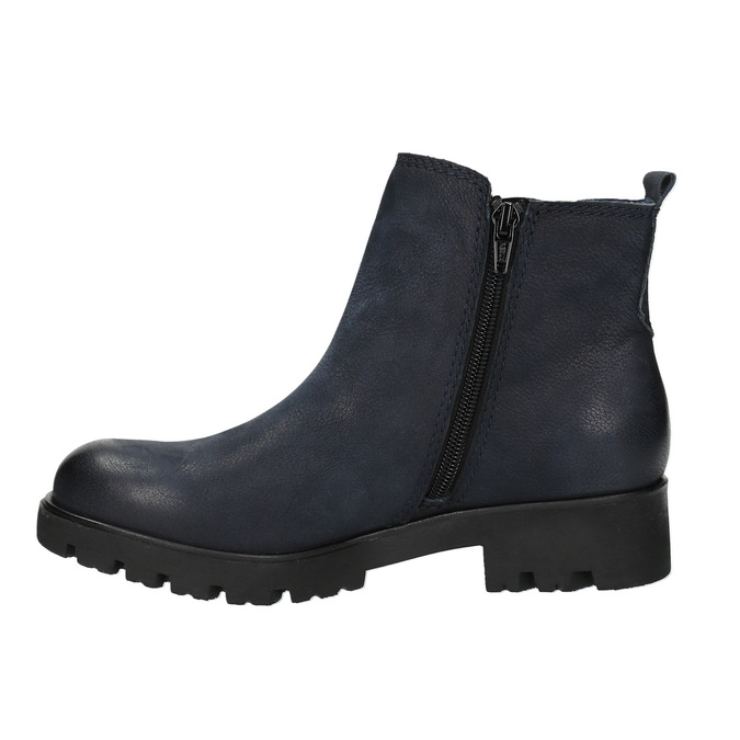 Botki damskie bata, niebieski, 696-9606 - 26