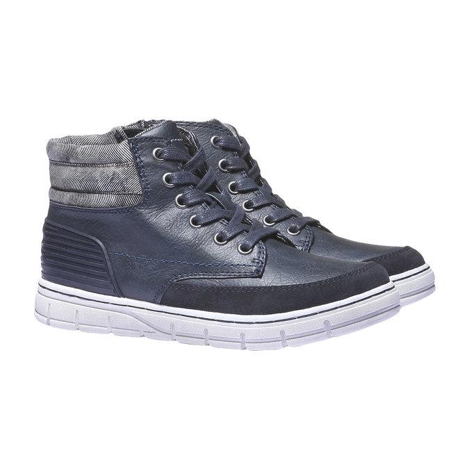 Kolorowe buty sportowe mini-b, niebieski, 391-9194 - 26
