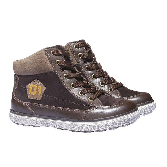 Buty dziecięce mini-b, brązowy, 313-4178 - 26