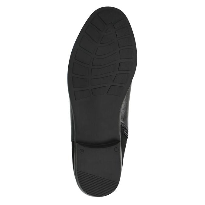 Kozaki damskie za kolana bata, czarny, 591-6604 - 26