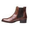 Skórzane buty Chelsea bata, brązowy, 594-4448 - 15
