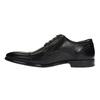Półbuty męskie ze skóry bata, czarny, 824-6710 - 26