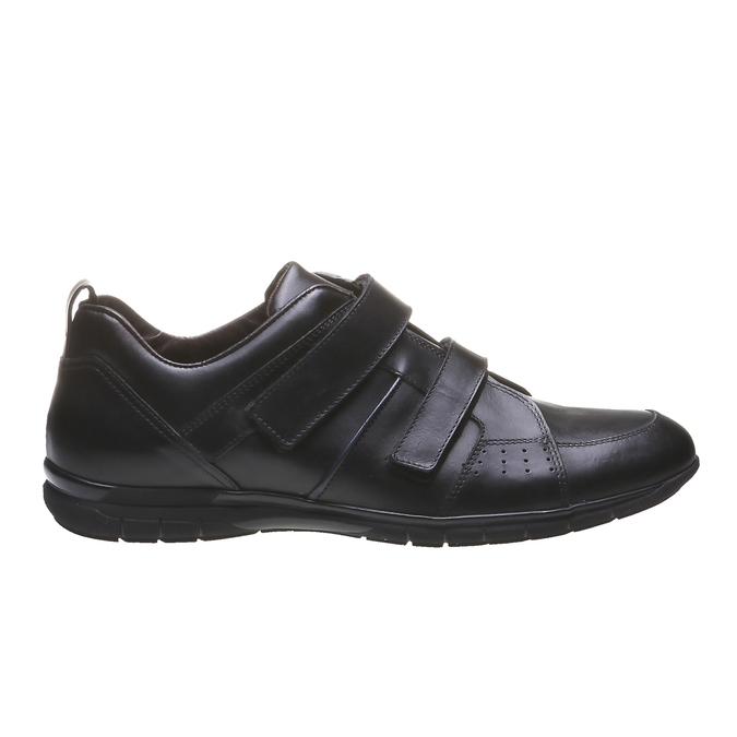 Skórzane buty sportowe bata, czarny, 814-6344 - 26