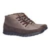 Skórzane buty sportowe na co dzień bata, brązowy, 896-4195 - 26