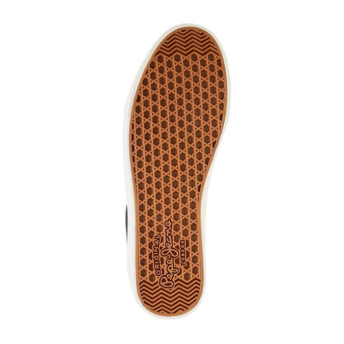 Męskie czarne buty sportowe w codziennym stylu pepe-jeans, czarny, 849-6007 - 26