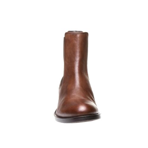 Skórzane buty Chelsea bata, brązowy, 594-4448 - 16