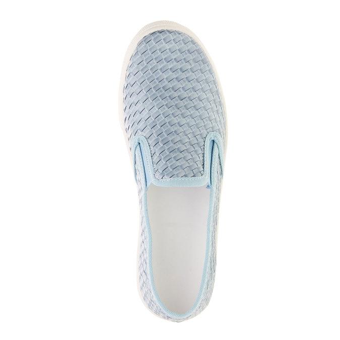 Dziecięce buty Slip on north-star-junior, niebieski, 321-9186 - 19