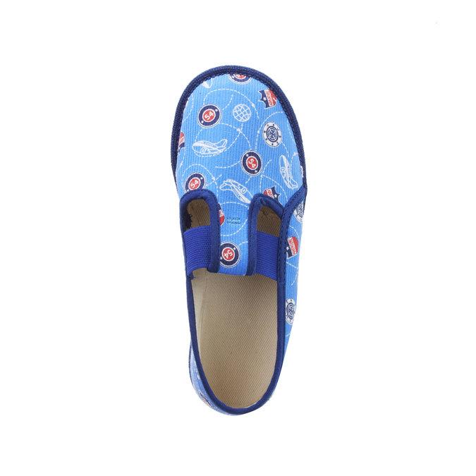 Pantofle dziecięce bata, niebieski, 279-9011 - 19