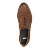 Półbuty damskie ze skóry bata, brązowy, 526-4600 - 19