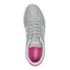 Szare damskie buty sportowe z zamszu adidas, szary, 503-2201 - 19