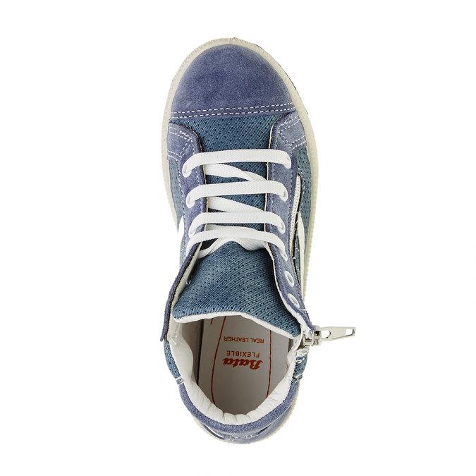 Dziecięce buty sportowe do kostki flexible, niebieski, 311-9194 - 19