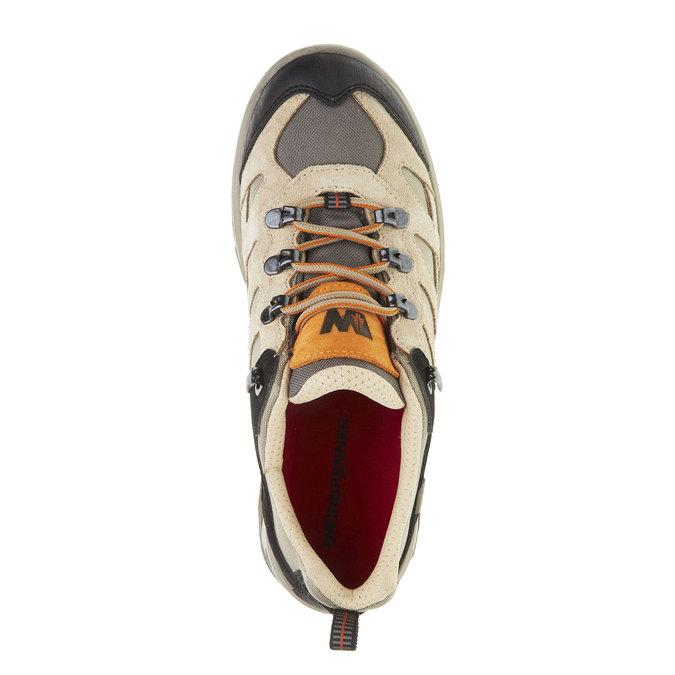 Skórzane buty Outdoor north-star, żółty, 543-8208 - 19