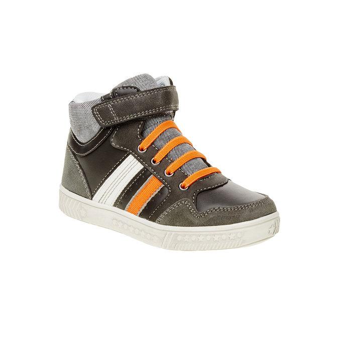Dziecięce buty sportowe do kostki mini-b, szary, 211-2156 - 13