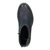 Botki damskie bata, niebieski, 696-9606 - 19