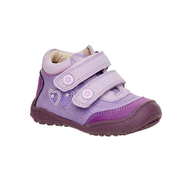 Dziewczęce botki mini-b, fioletowy, 121-9104 - 13