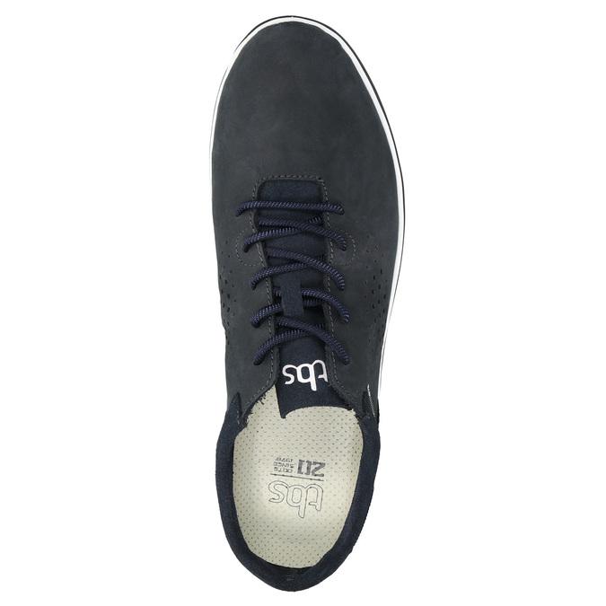 Skórzane buty sportowe na co dzień, czarny, 833-9003 - 19