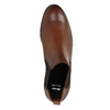 Brązowe skórzane buty Chelsea Boots bata, brązowy, 594-4604 - 19