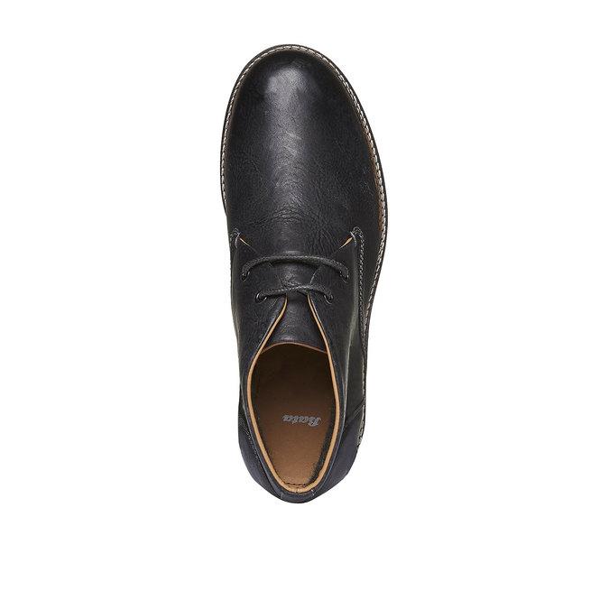 Skórzane buty w stylu Desert Boots bata, czarny, 894-6114 - 19