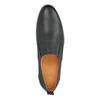 Męskie skórzane buty Slip On bata, czarny, 814-9148 - 19