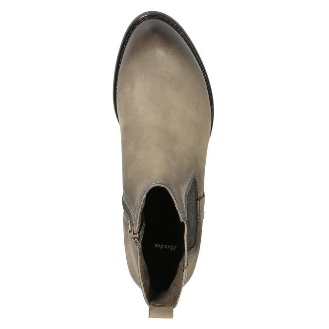 Botki damskie bata, brązowy, 596-2603 - 19