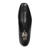 Męskie skórzane półbuty bata, czarny, 824-6669 - 19