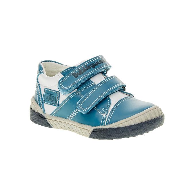 Dziecięce buty sportowe na rzepy bubblegummer, niebieski, 113-9145 - 13