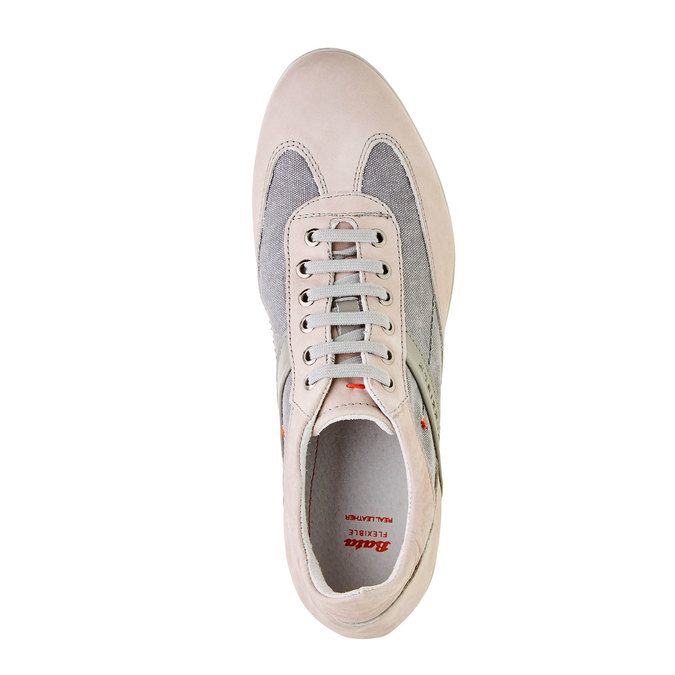 Męskie buty sportowe w codziennym stylu flexible, szary, 826-2638 - 19