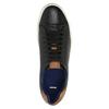 Męskie skórzane buty sportowe bata, czarny, 844-6626 - 19