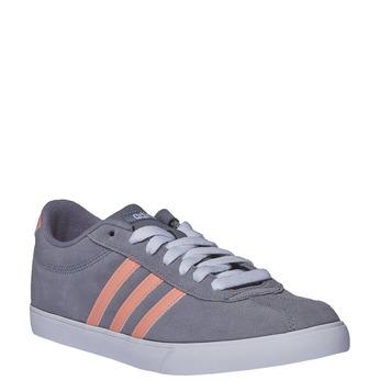 Skórzane buty sportowe na co dzień adidas, szary, 503-2685 - 13