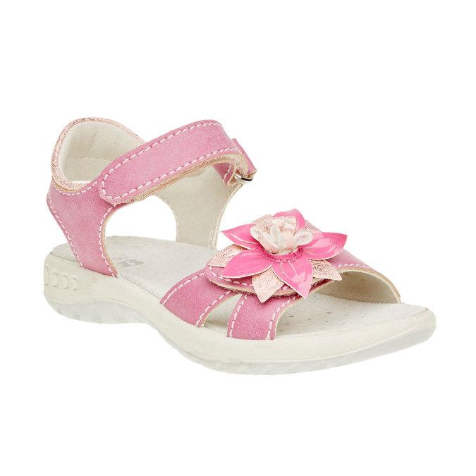 Sandały dziecięce mini-b, różowy, 361-5119 - 13