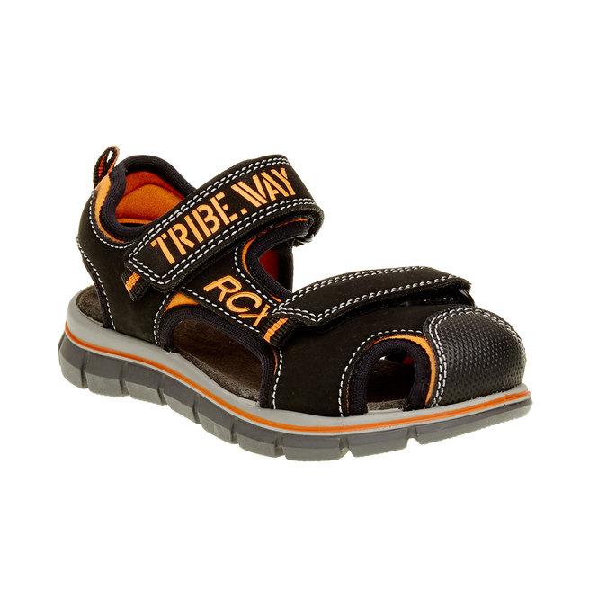 Sandały dziecięce mini-b, czarny, 361-6120 - 13