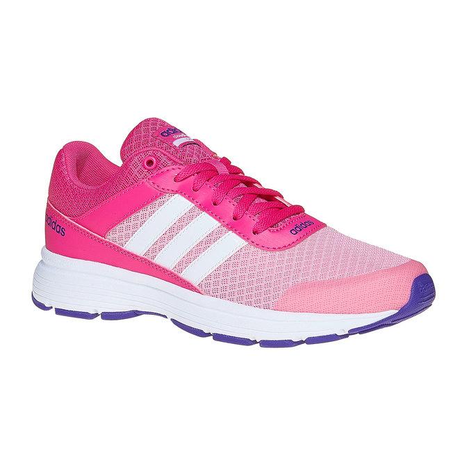 Dziewczęce buty sportowe adidas, różowy, 409-5230 - 13