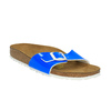 Klapki damskie na korkowej podeszwie birkenstock, niebieski, 561-9002 - 13