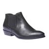 Skórzane buty w stylu Chelsea bata, czarny, 594-6106 - 13