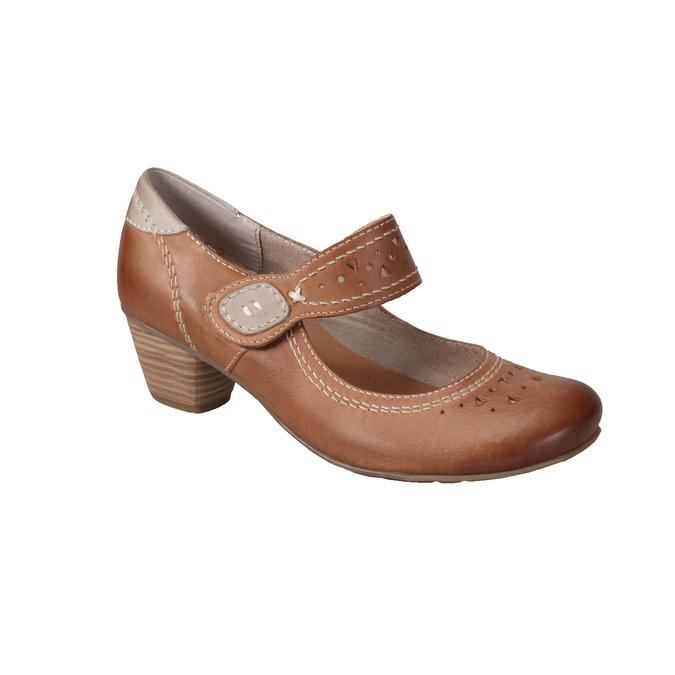 Mary Jane bata, brązowy, 626-4111 - 13