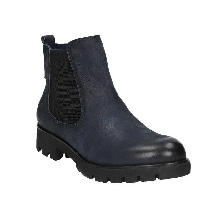 Botki damskie bata, niebieski, 696-9606 - 13