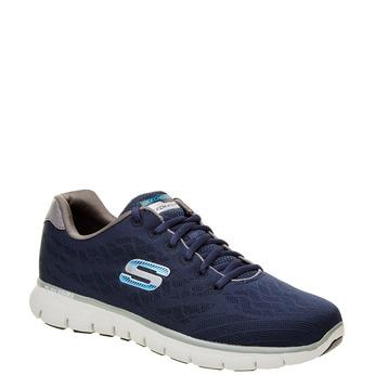 Męskie buty sportowe skecher, niebieski, 809-9979 - 13