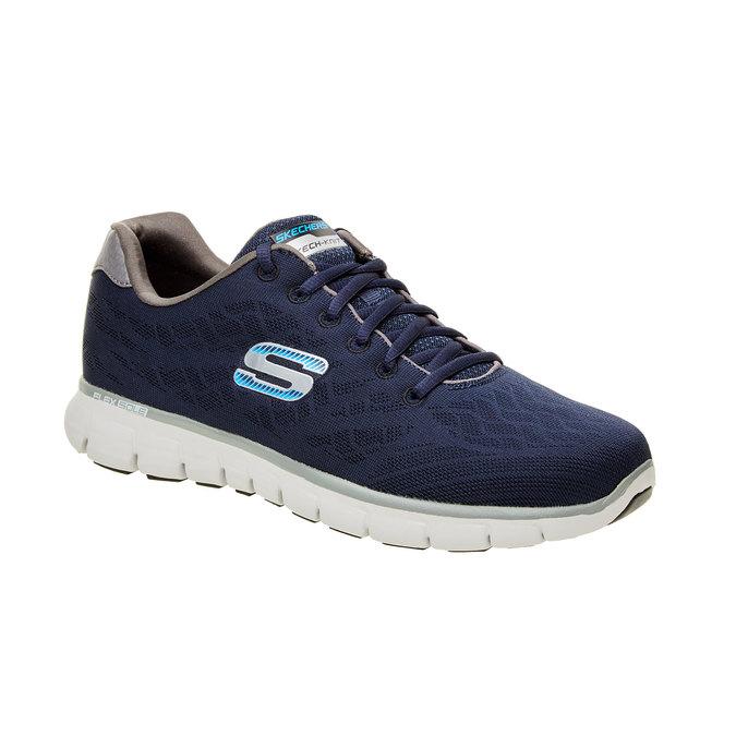 Męskie buty sportowe skechers, niebieski, 809-9979 - 13