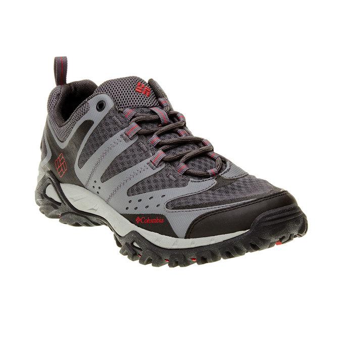 Męskie buty sportowe columbia, czarny, szary, 849-6018 - 13